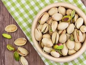 Минералы и витамины в фисташках