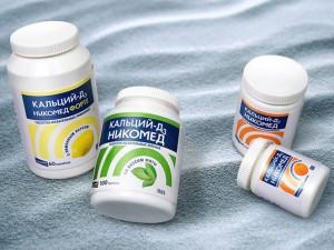 Кальция в таблетках