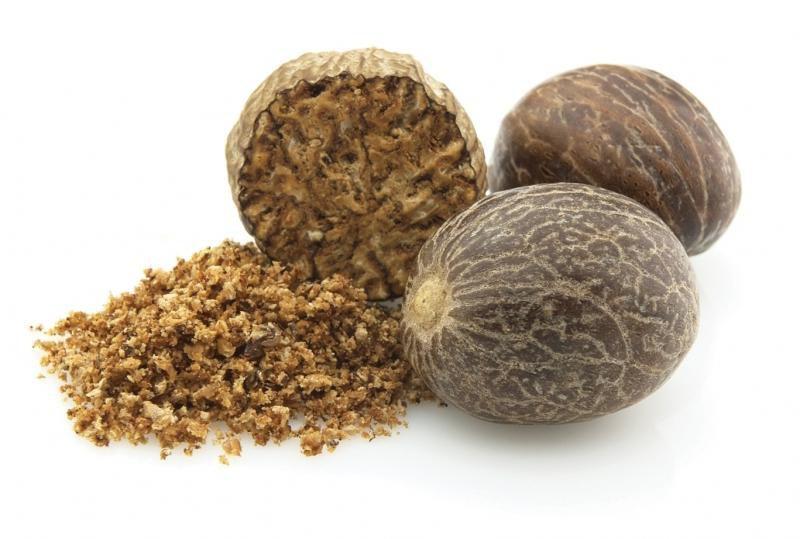 Приправа мускатный орех: полезные свойства и противопоказания. Куда добавляют мускатный орех