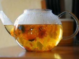 Чай из цветков календулы