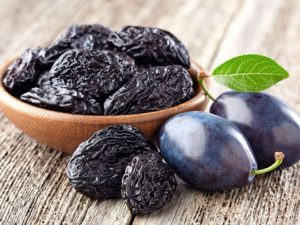 Полезный состав чернослива