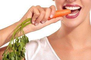 кусай морковку